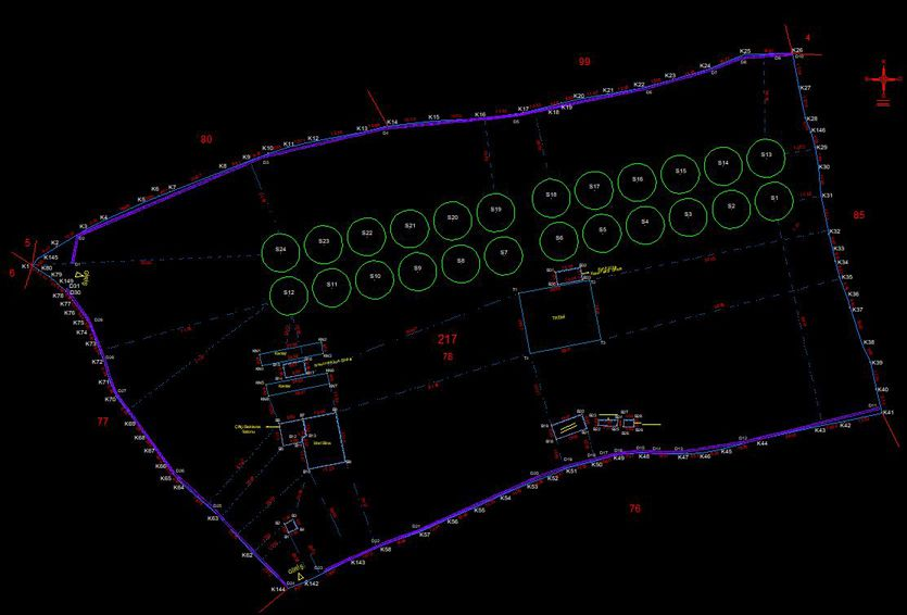 Sivas Ulaş 24 Adet Silo Yapımına Ait Harita